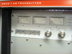 Collins AM transmitter
